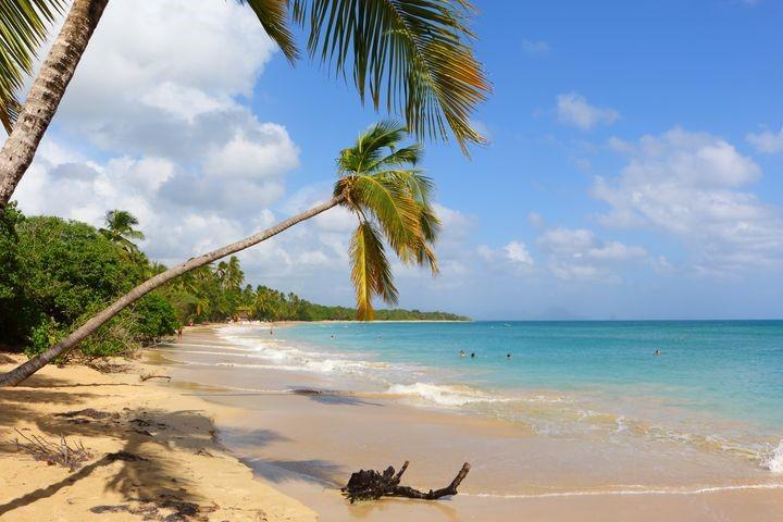 Les 5 plages à faire en amoureux en Martinique