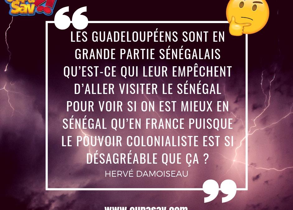Les Guadeloupéens sont en grande partie sénégalais